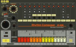 Roland TR-808 im Browser spielen